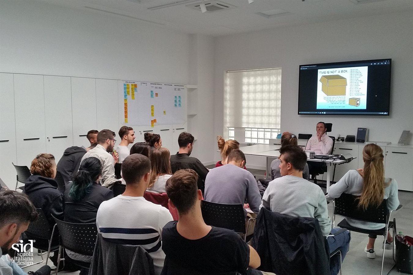 workshop sid scuola italiana design di padova