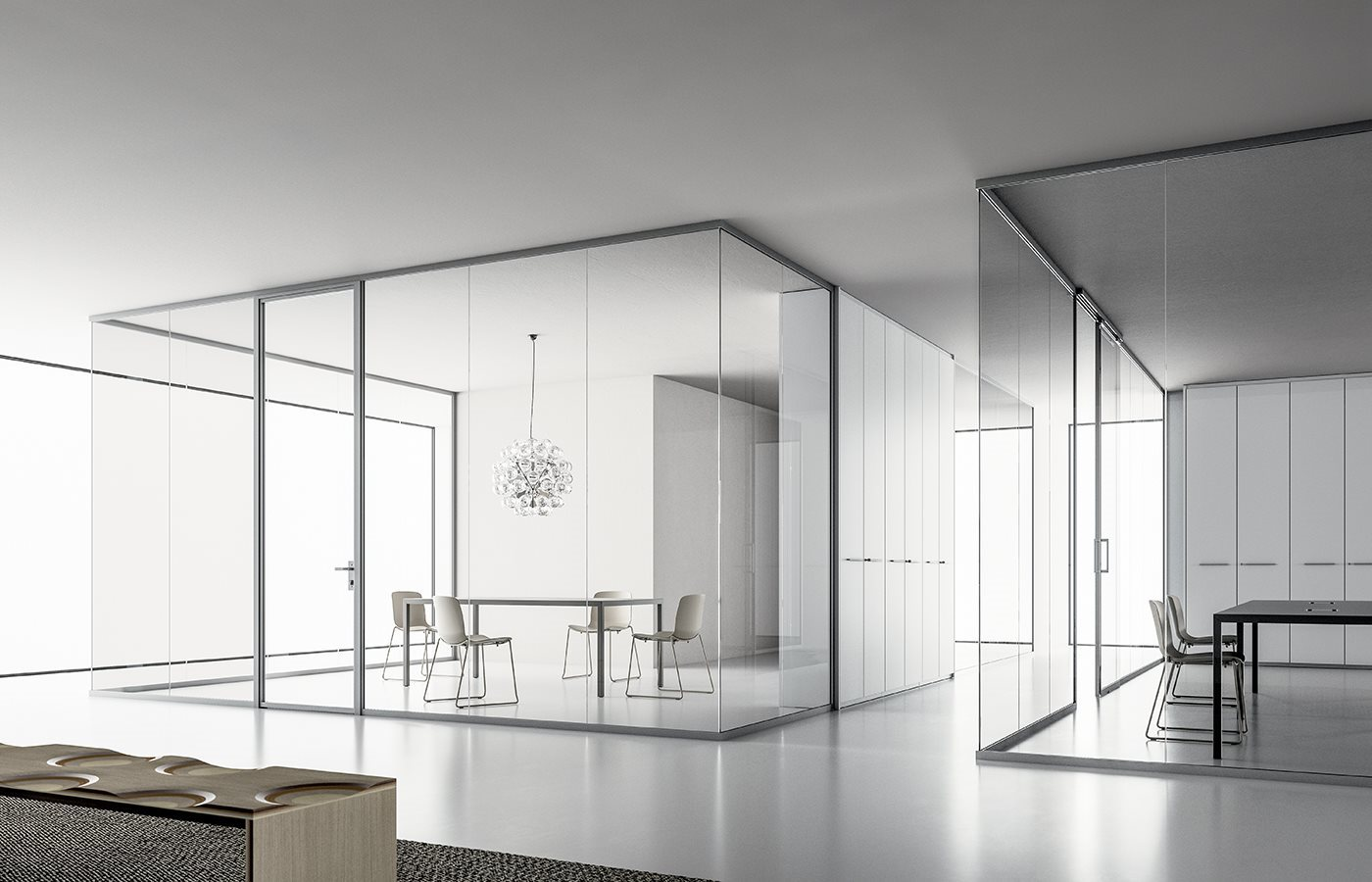 Pareti Divisorie In Vetro single-glazed partition wall - dv602 - dvo